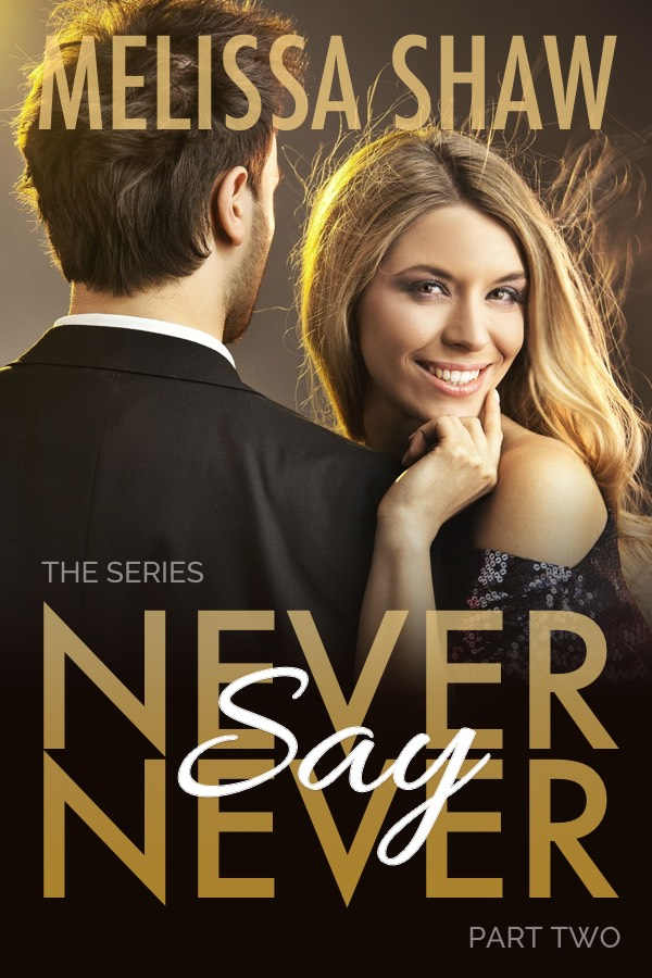 Cover for Never Say Never by Melissa Shaw